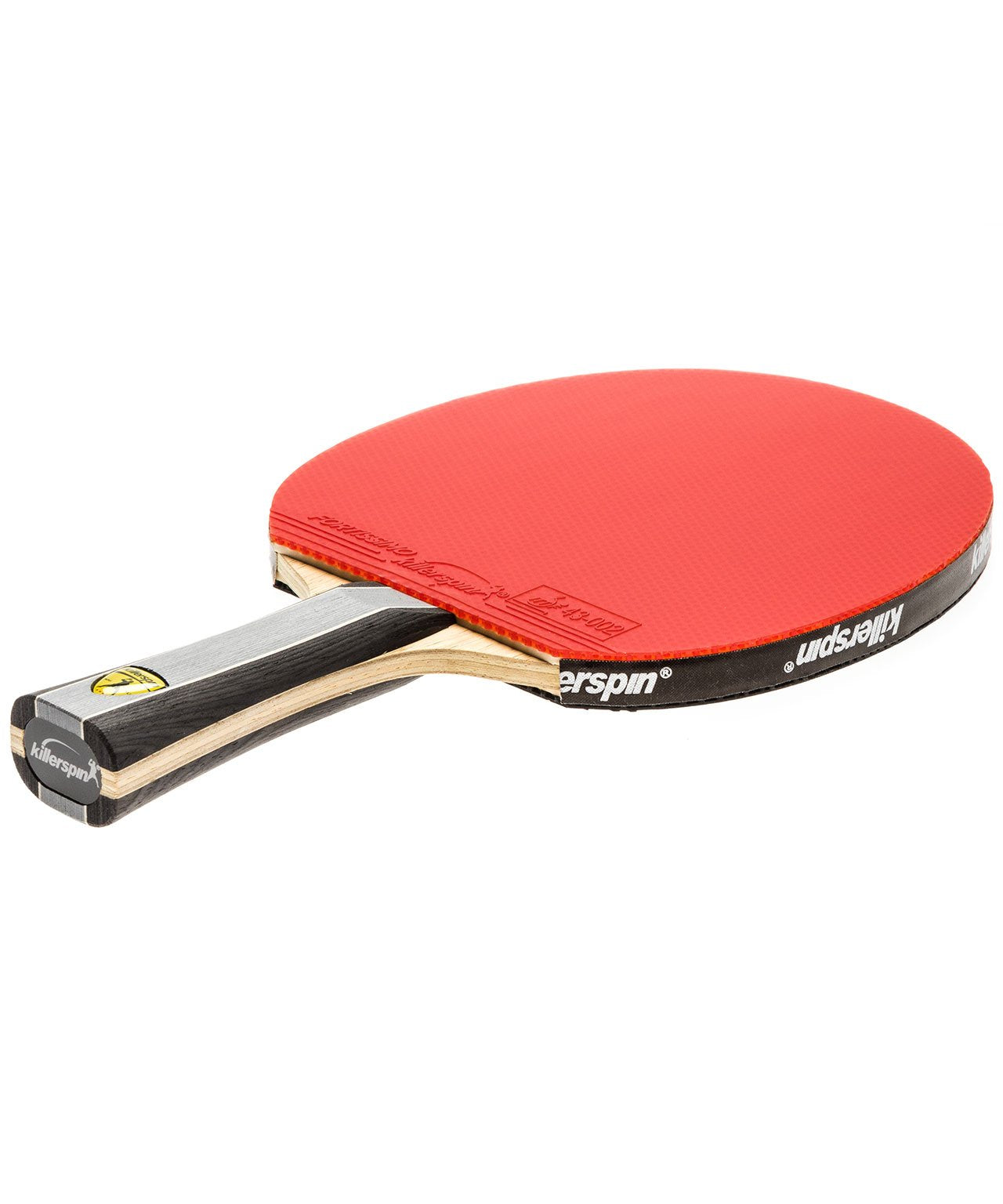 Killerspin Ping Pong Paddle Kido 7P RTG Premium - Flared Red Fortissimo Rubber