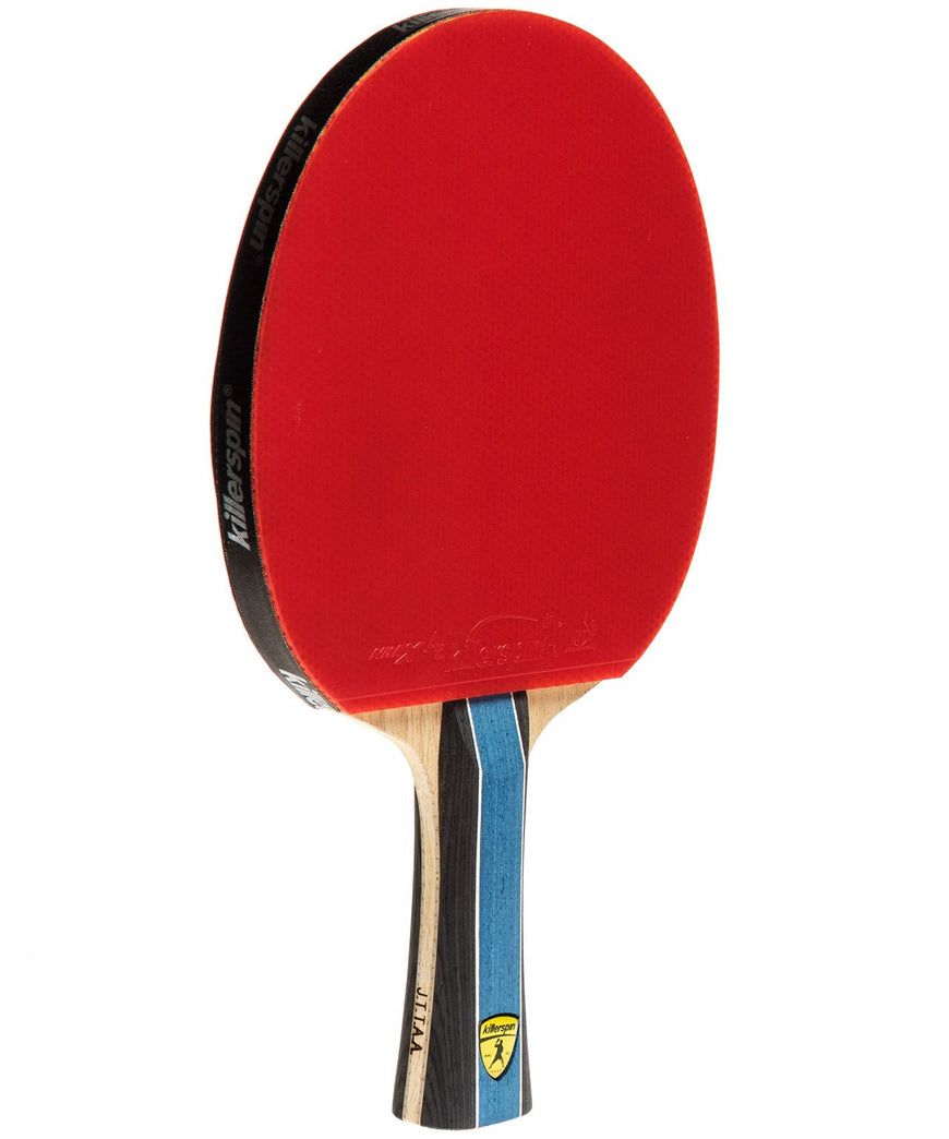 Killerspin Ping Pong Racket Kido 5A RTG - Flared Red Rubber