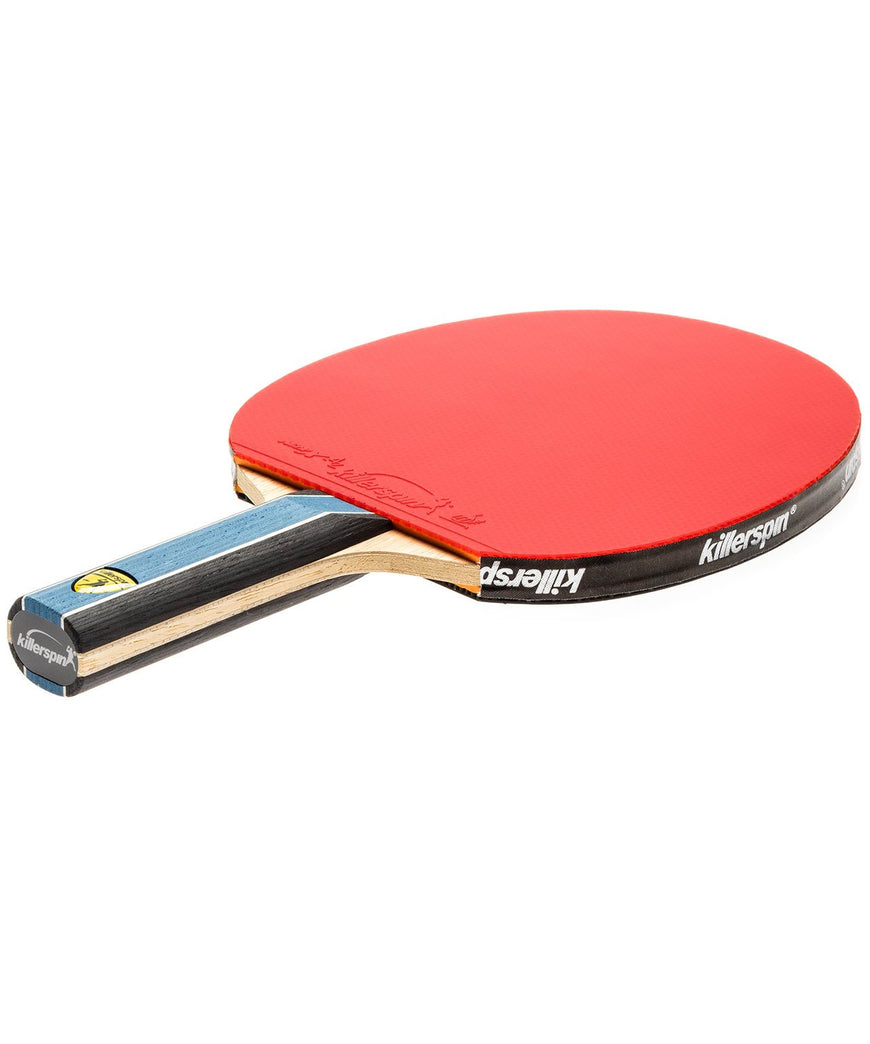 Killerspin Ping Pong Paddle Kido 5A RTG - Straight Red Rubber