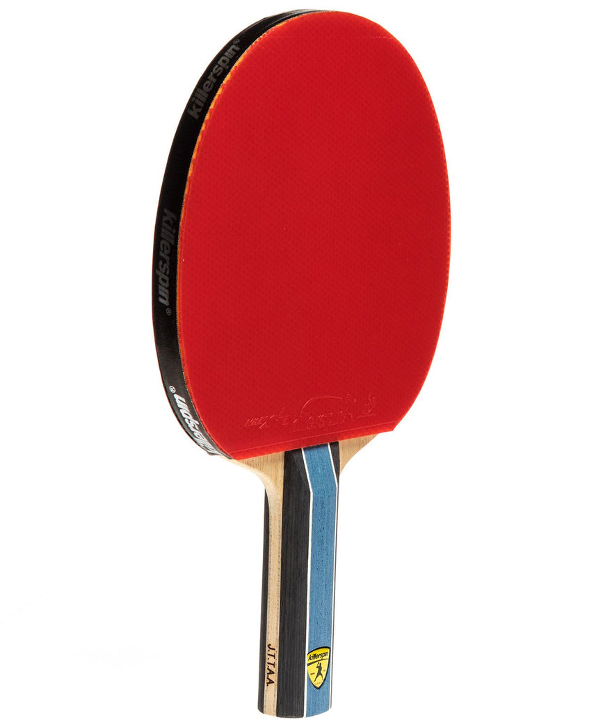 Killerspin Ping Pong Paddle Kido 5A RTG - Straight Handle Red Rubber