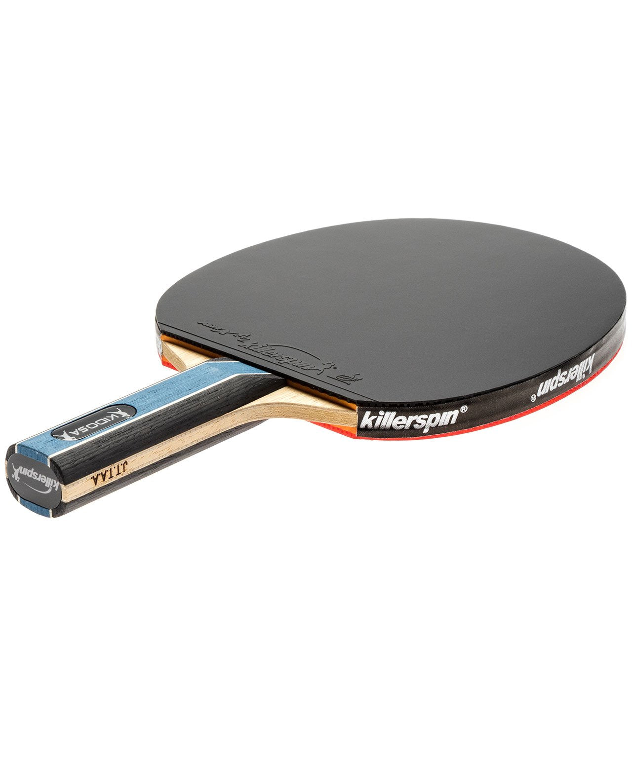 Killerspin Ping Pong Paddle Kido 5A RTG - Straight Black Rubber