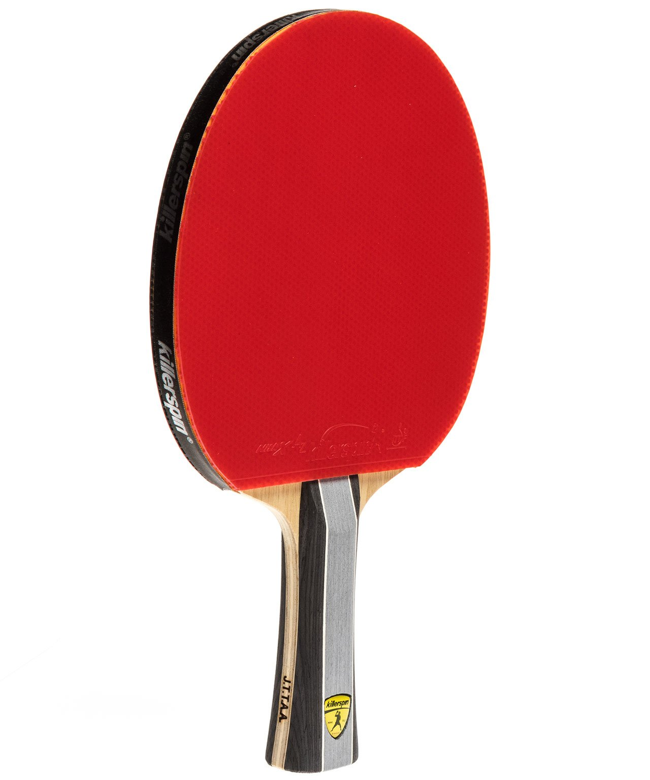Killerspin Ping Pong Paddle Kido 7P RTG - Flared Red Rubber