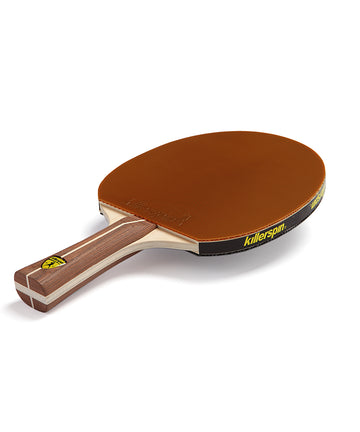 Killerspin Ping Pong Paddle Jet200 Mocha - Brown Rubber