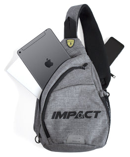 Killerspin Sling415 Backpack Ping Pong Crossbody Bag Paddle iPad Phone