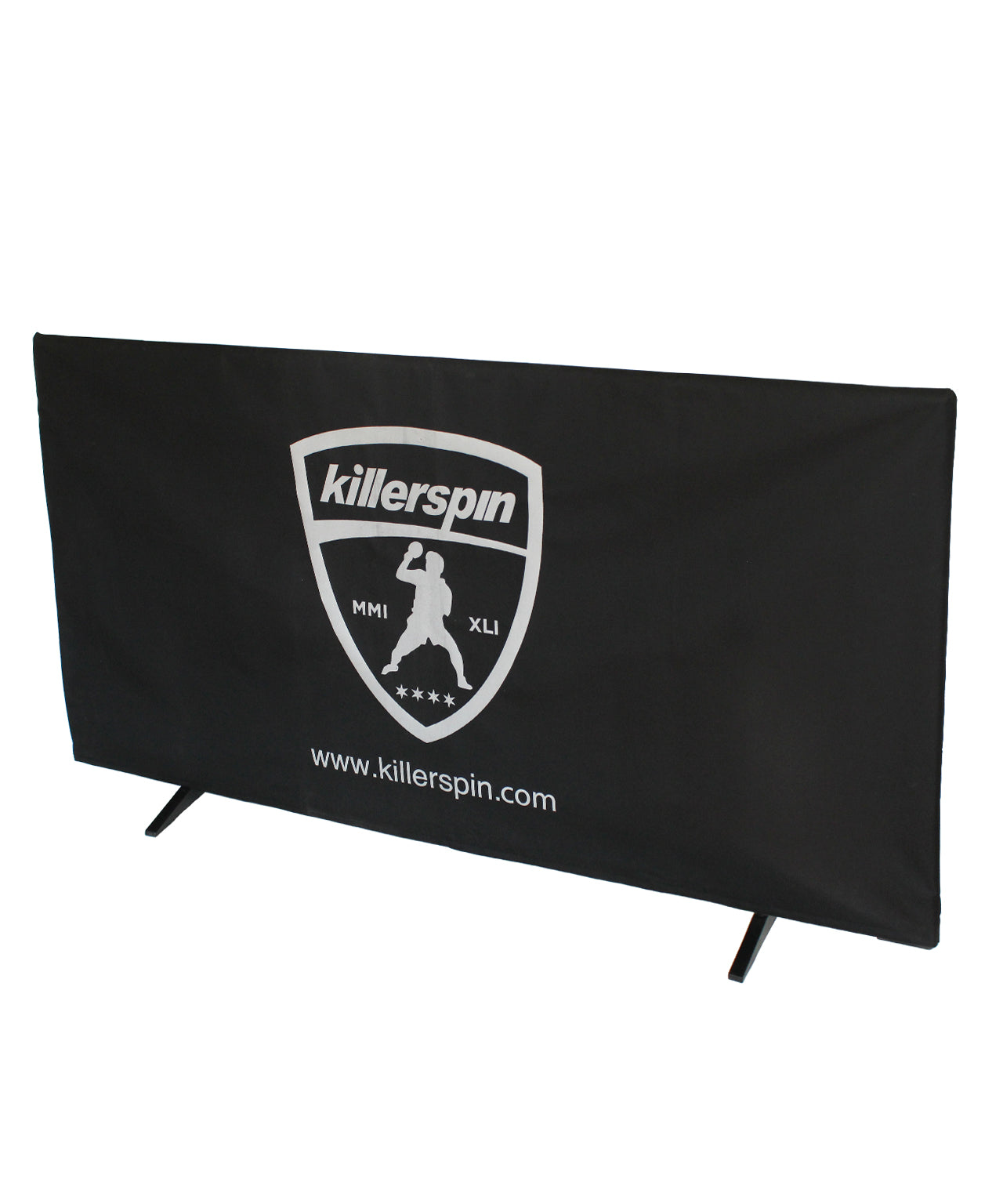 Killerspin Ping Pong Perimeter Barriers – Set of 5 Black Partitions
