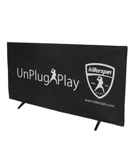 Killerspin UnPlugNPlay Ping Pong Perimeter Barriers – Set of 5 Black Partitions