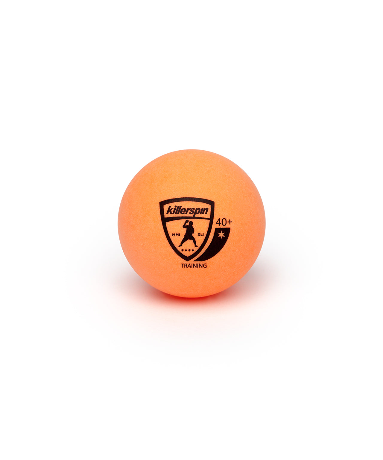 Killerspin Training Ping Pong Orange Balls - Logo