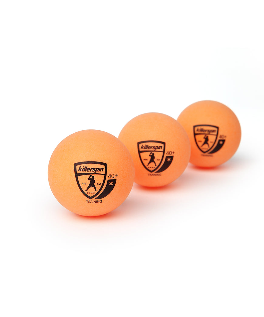 Killerspin Training Ping Pong Orange Balls - Multiple Balls