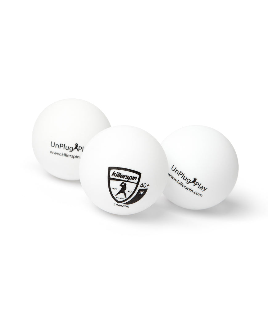 Killerspin Training Table Tennis Balls - Logo