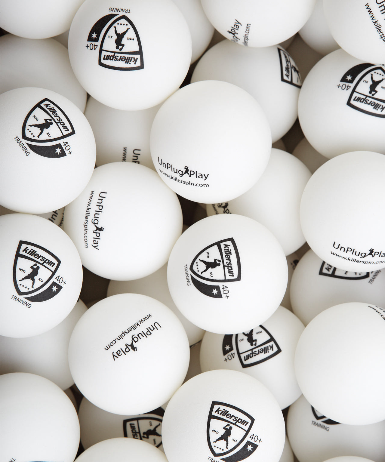 Training Balls 40+ (White) - 25 pack