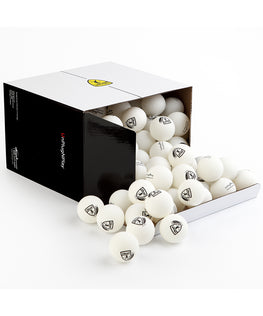 Training 2 Star Balls 40+ (White) 100 pack