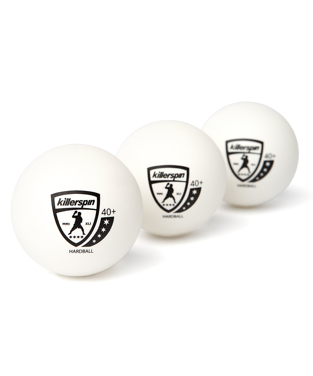 4 Star Hardball 40+ (White)