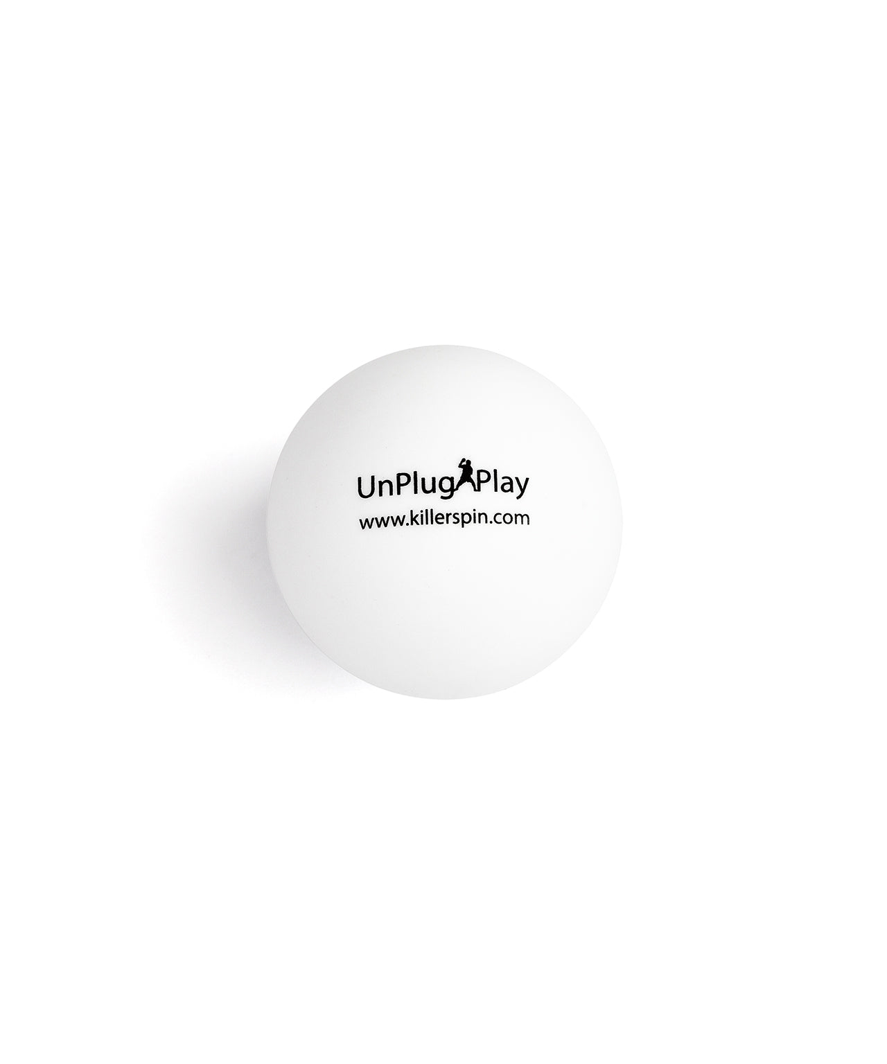 Killerspin 4 Star Hardball 40+ White Table Tennis Balls - Single Ball