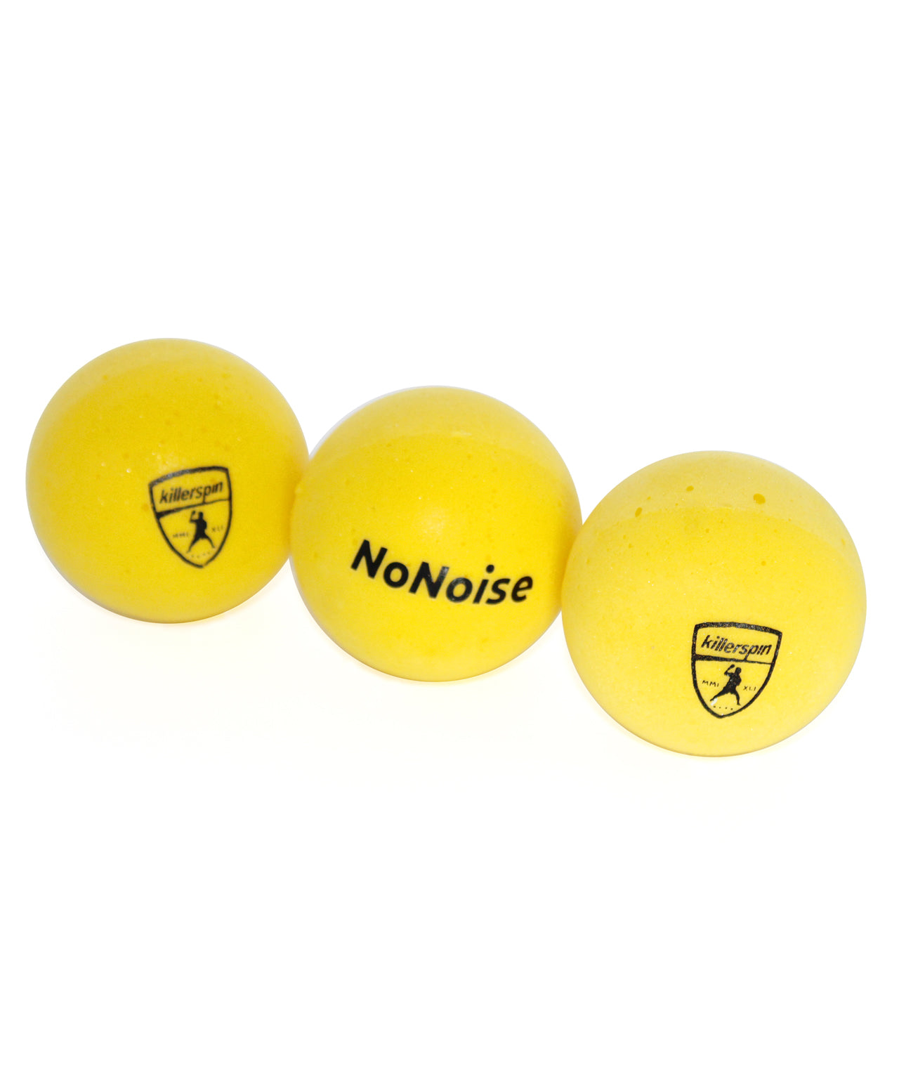 Killerspin No Noise Table Tennis Rubber Balls - Multiple Balls