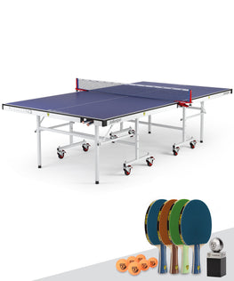Killerspin MyT Ping Pong Table Indoor UnPlugNPlay Party Package