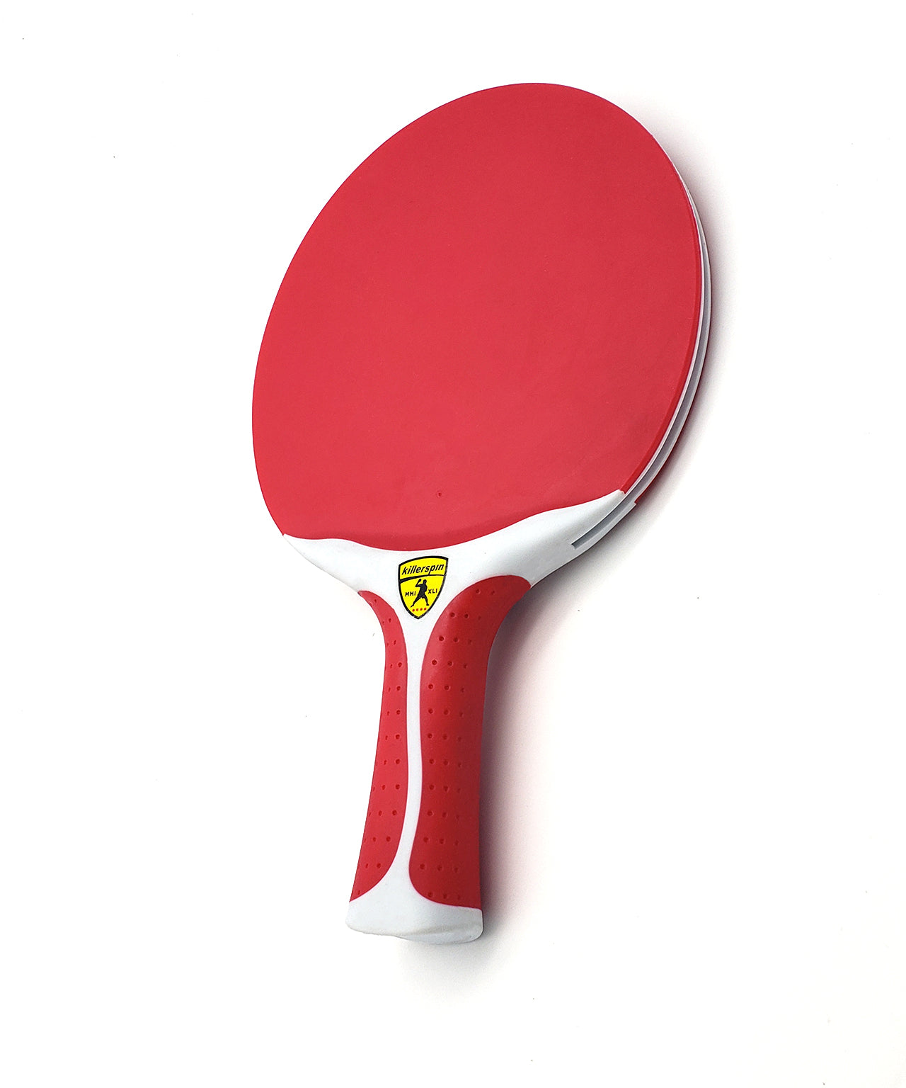 Killerspin Outdoor Ping Pong Paddle Canvas Swirl Red
