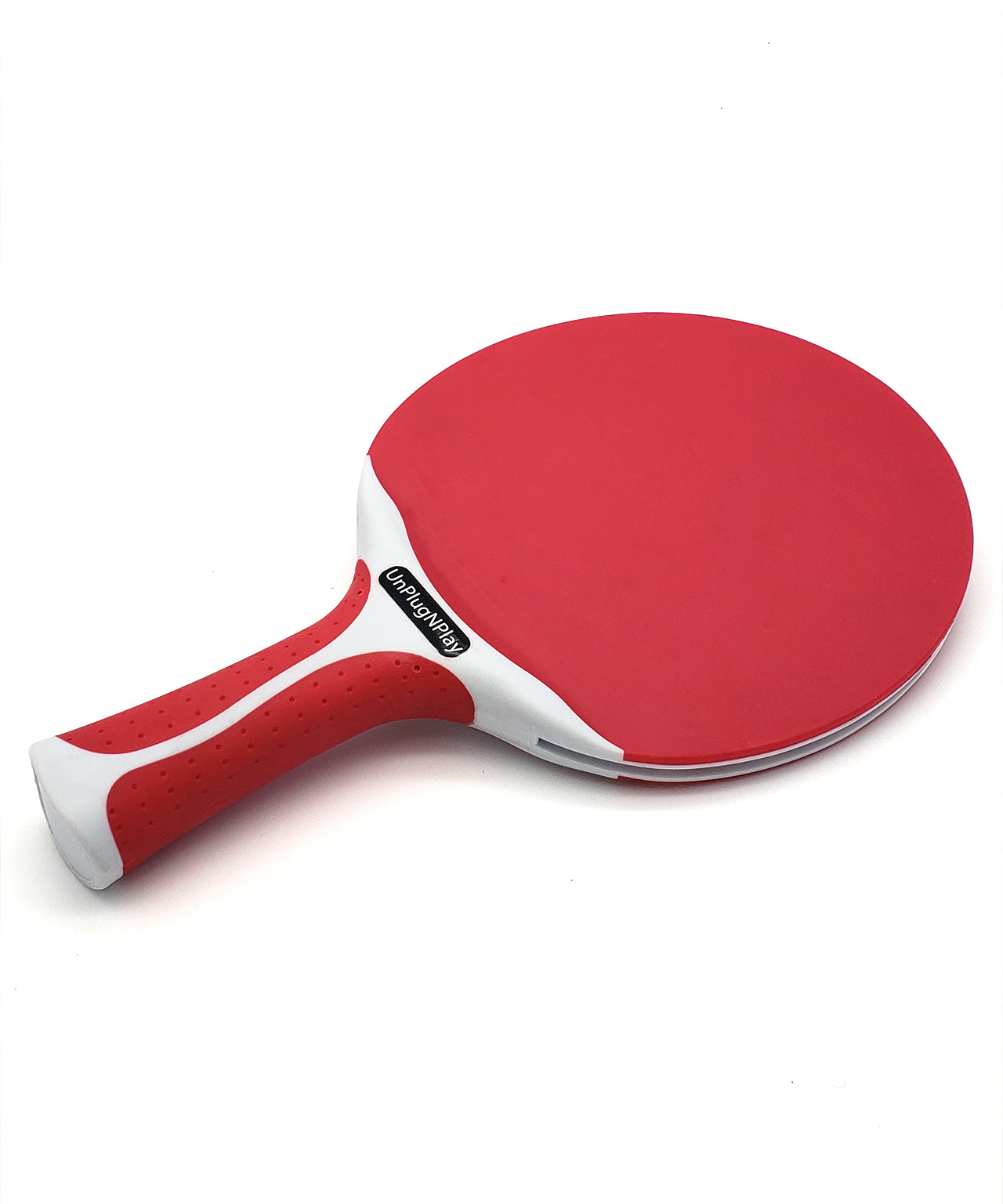 Killerspin Outdoor Ping Pong Paddle Canvas Swirl Red - UnPlugNPlay