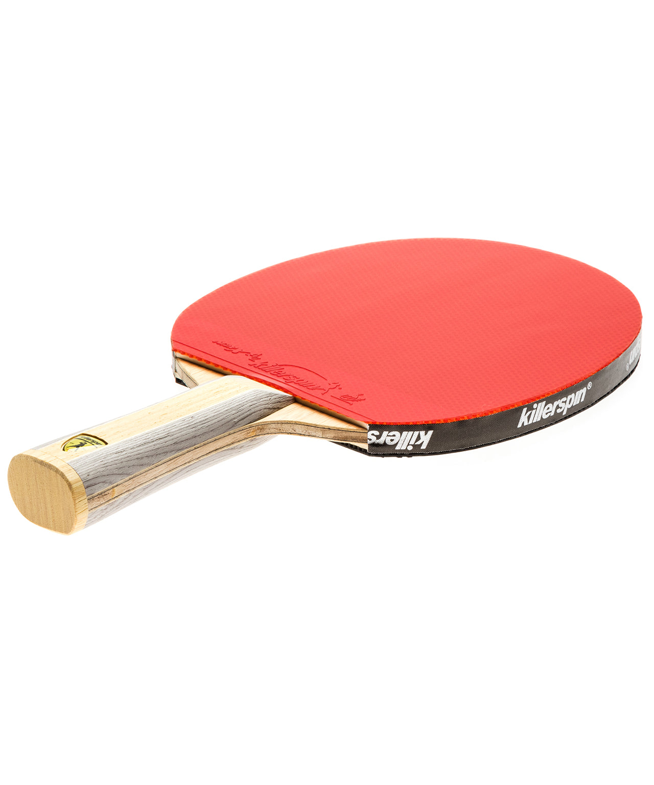 Killerspin Ping Pong Paddle Diamond CQ - Flared Red Rubber