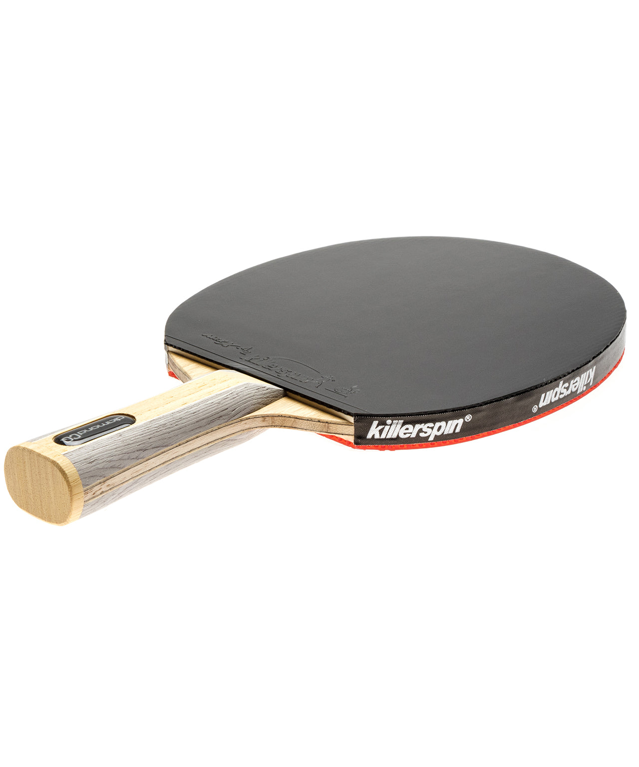 Killerspin Table Tennis Racket Diamond CQ - Flared Black Rubber