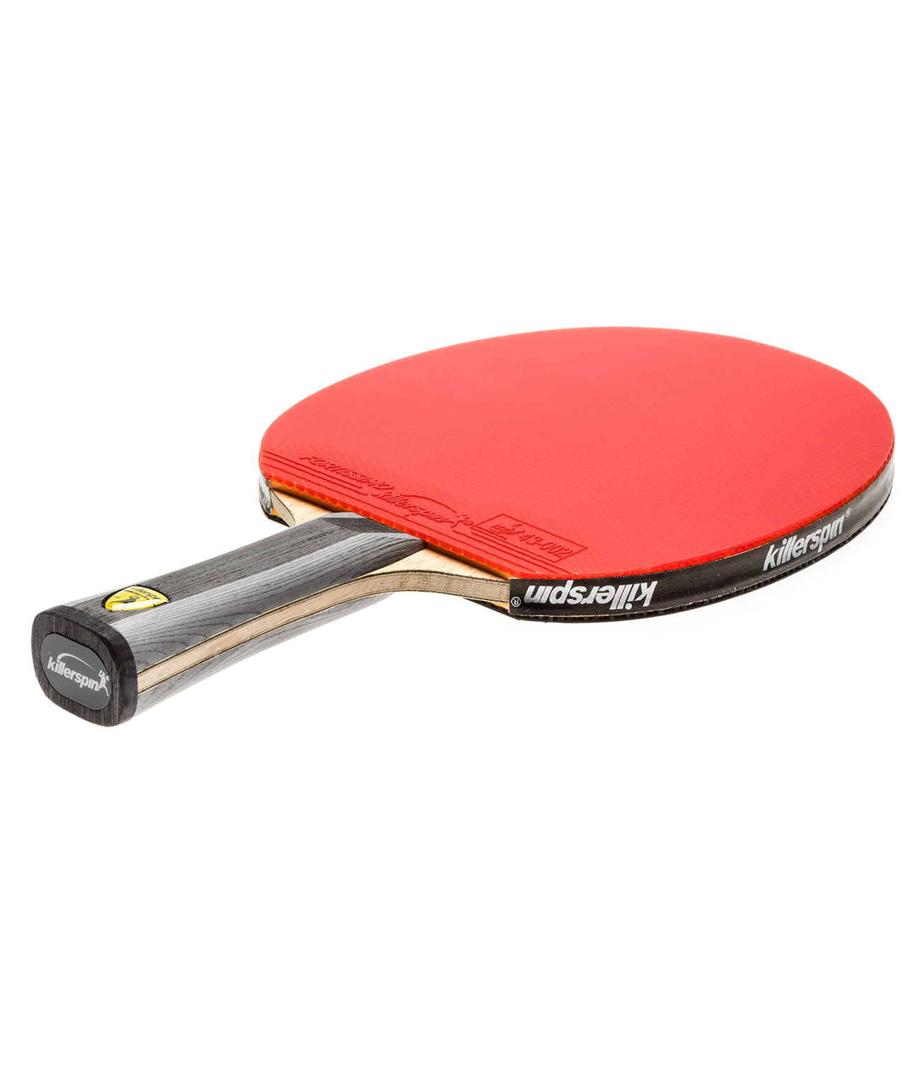 Killerspin Ping Pong Paddle Diamond TC Premium - Flared Red Fortissimo Rubber
