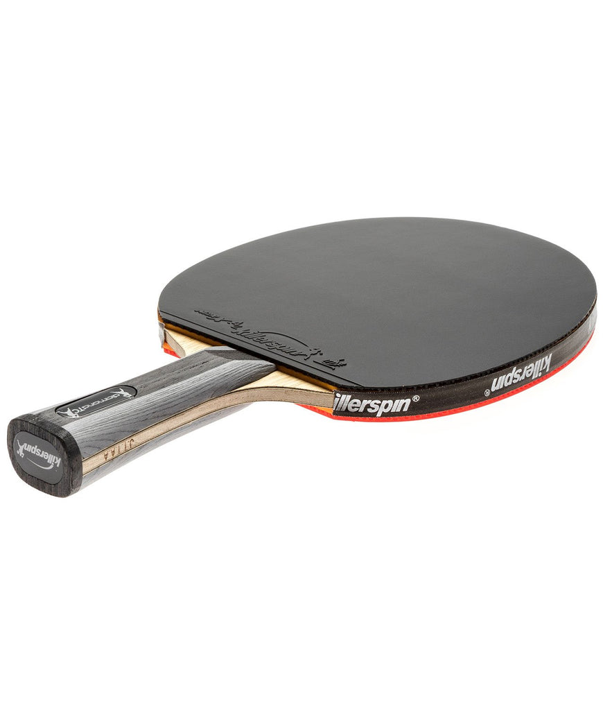 Killerspin Ping Pong Paddle Diamond TC - Flared Black Rubber