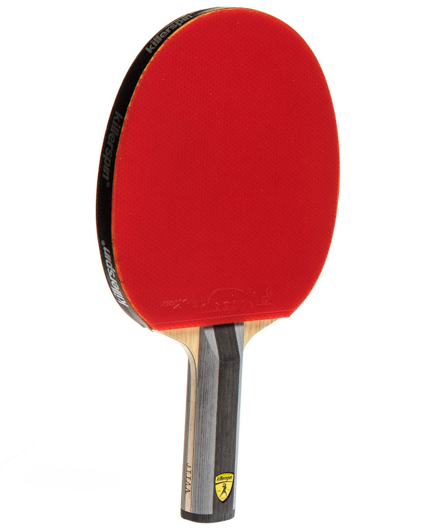Killerspin Ping Pong Racket Diamond TC - Straight Red Rubber