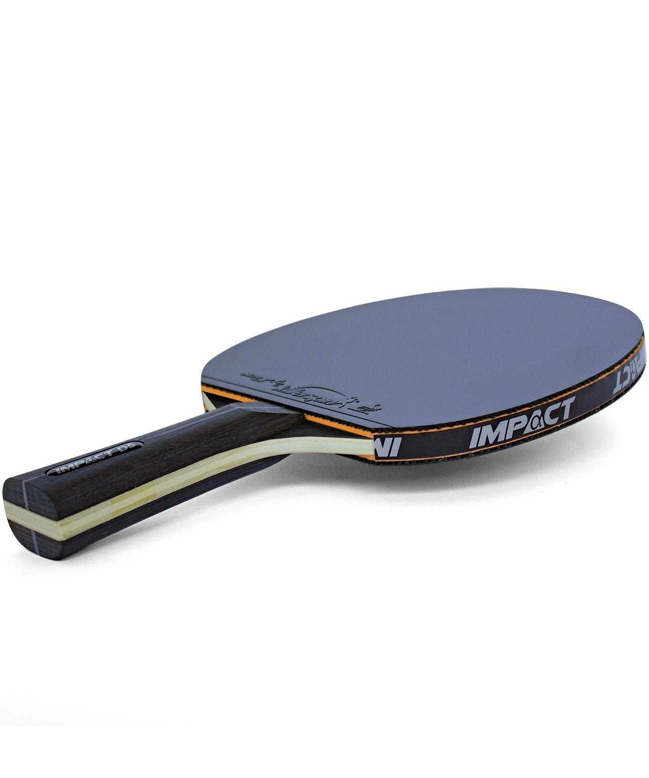 Killerspin Ping Pong Racket Impact D5 - Black Rubber