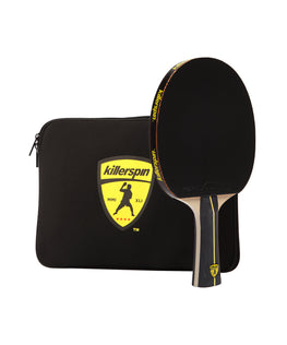 Killerspin Jet Black Combo Ping Pong Paddle Case