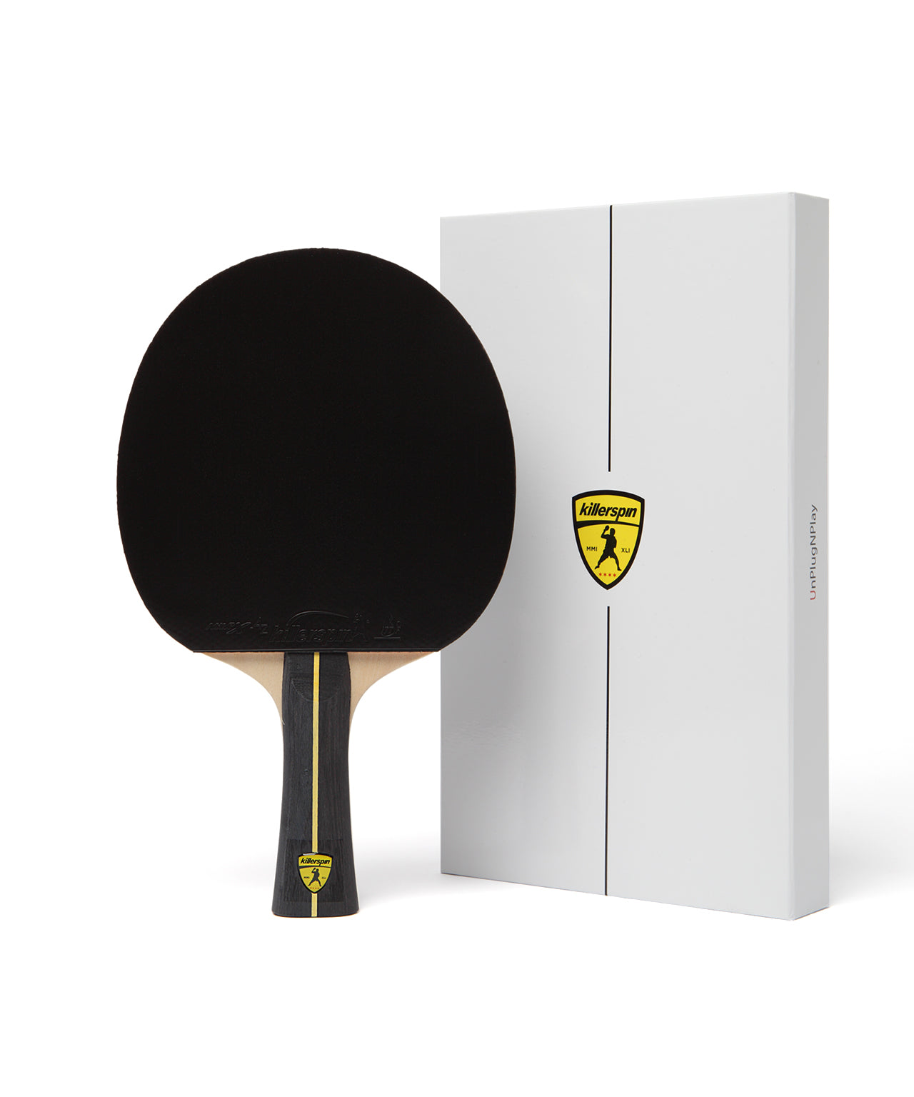 Killerspin Ping Pong Paddle Jet Black