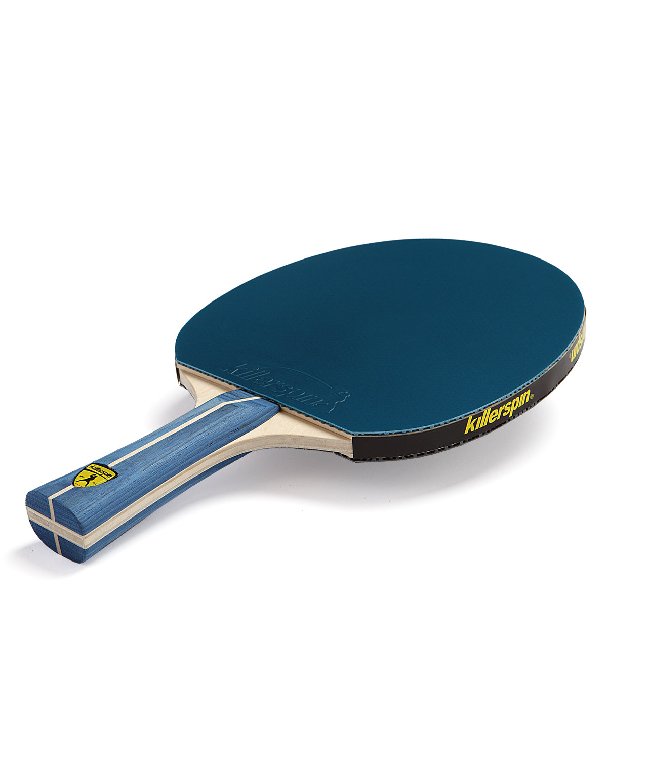 Killerspin Ping Pong Paddle Jet200 BluVannila - Blue Rubber
