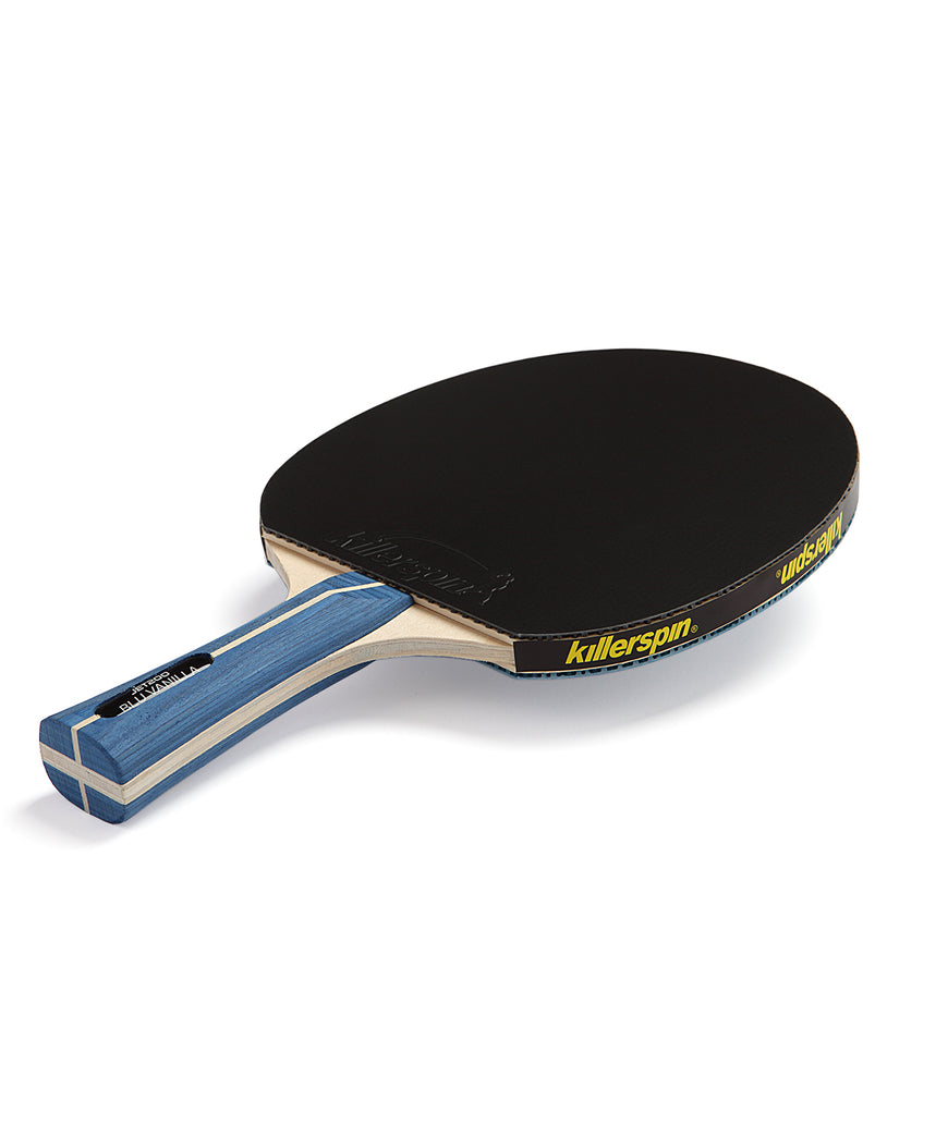 Killerspin Ping Pong Paddle Jet200 BluVannila - Black Rubber