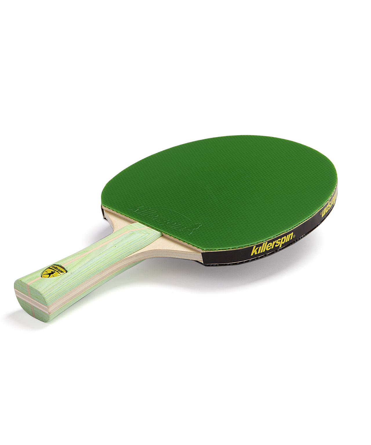 Killerspin Ping Pong Paddle Jet200 Lime - Green Rubber