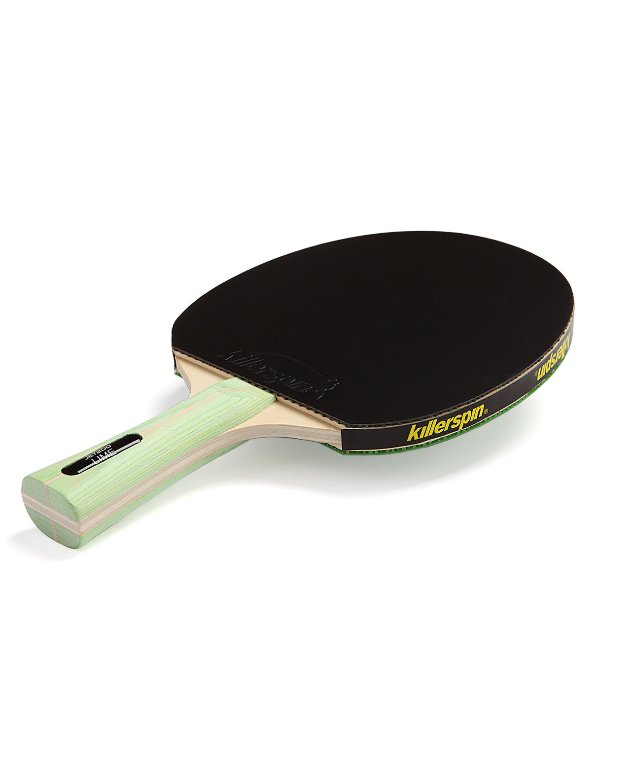 Killerspin Ping Pong Paddle Jet200 Lime - Black Rubber