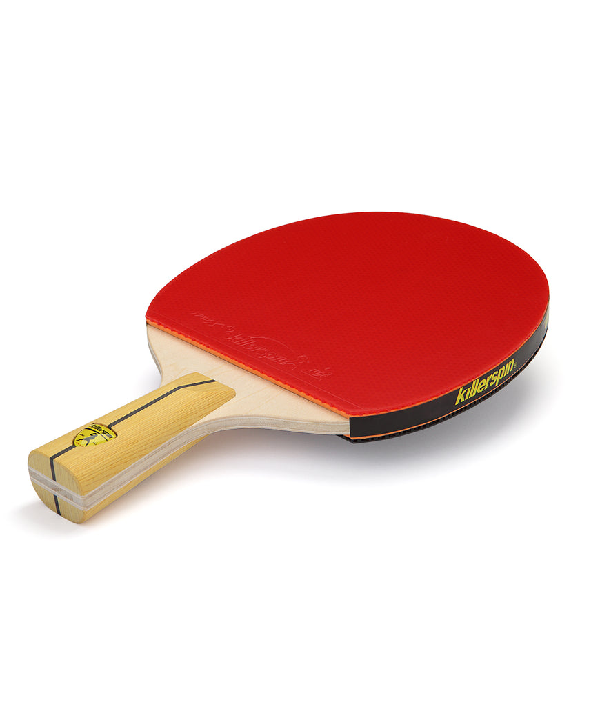 Killerspin Ping Pong Paddle Jet400 Smash N1 Penhold - Red Rubber