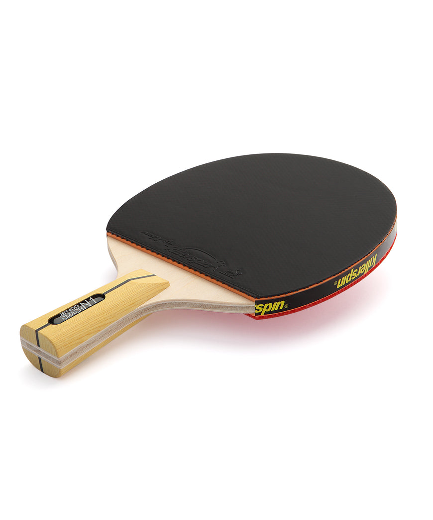 Killerspin Ping Pong Paddle Jet400 Smash N1 Penhold - Black Rubber