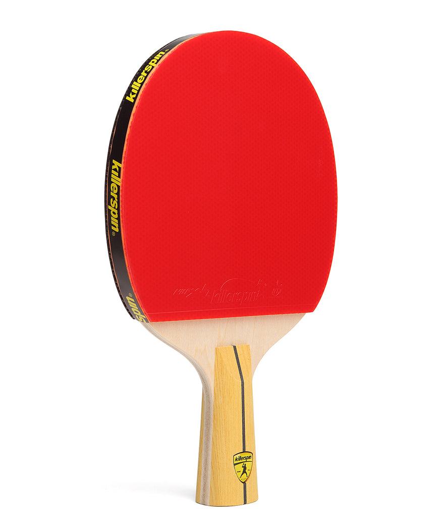 Killerspin Ping Pong Racket Jet400 Smash N1 Penhold - Red Rubber