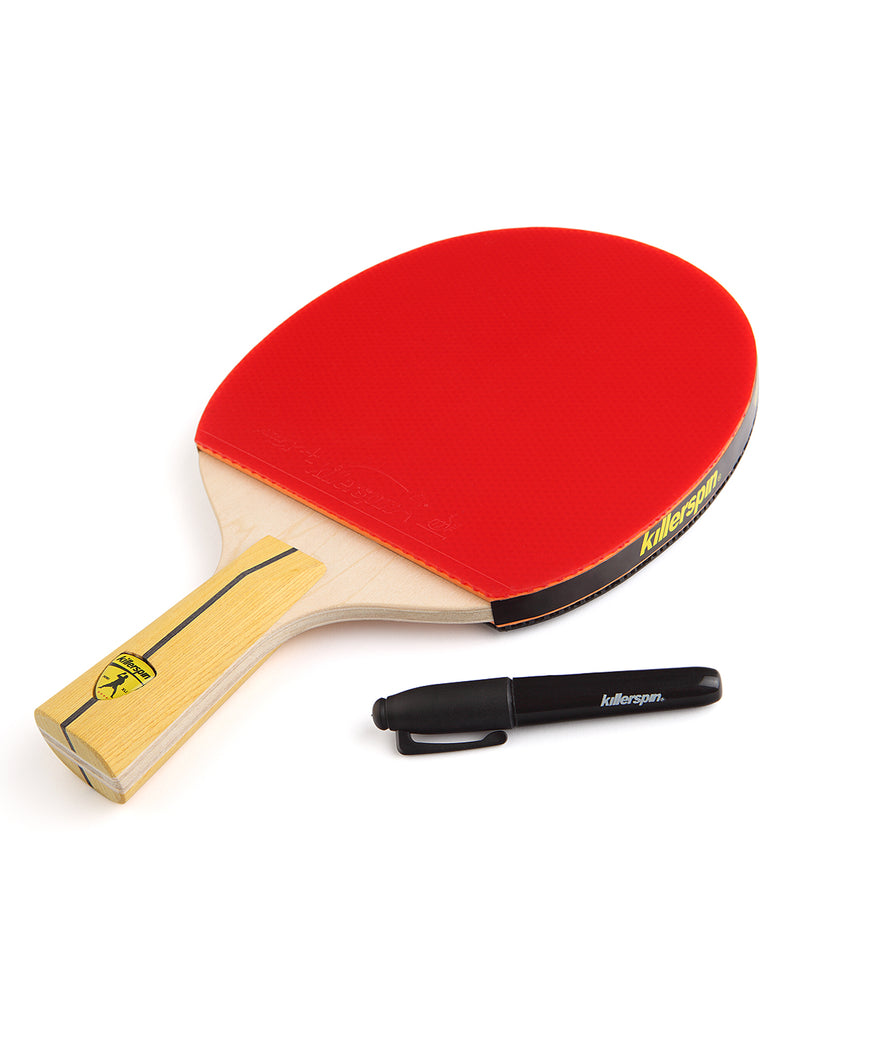 Killerspin Ping Pong Racket Jet400 Smash N1 Penhold - Memory on the Paddle