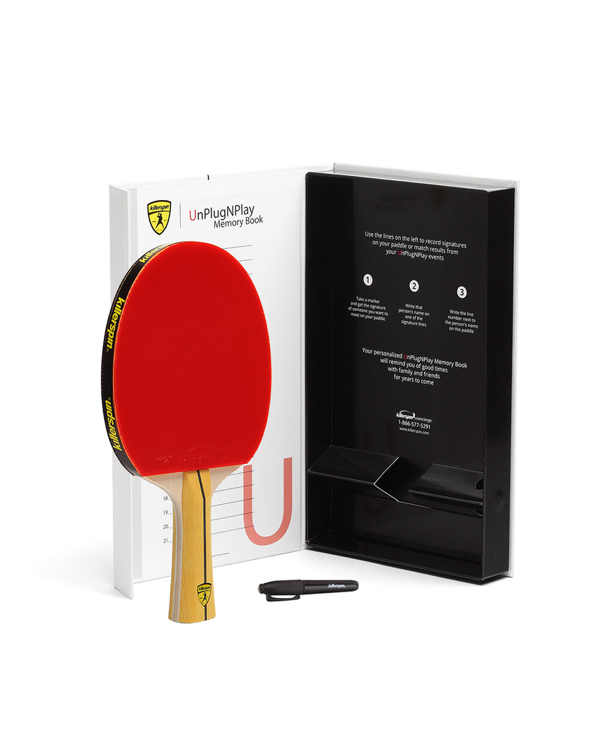 Killerspin Ping Pong Paddle Jet400 Smash N1 - Gift