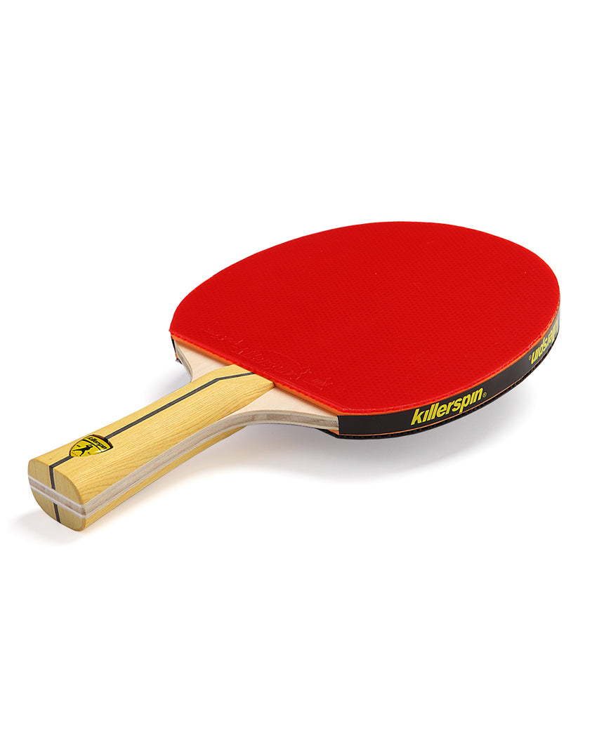 Killerspin Ping Pong Paddle Jet400 Smash N1 - Red Rubber