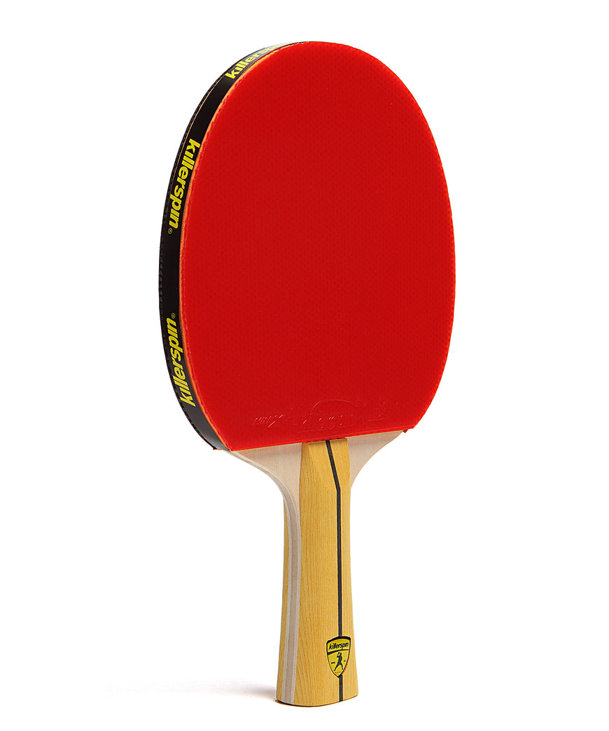 Killerspin Ping Pong Racket Jet400 Smash N1 - Red Rubber