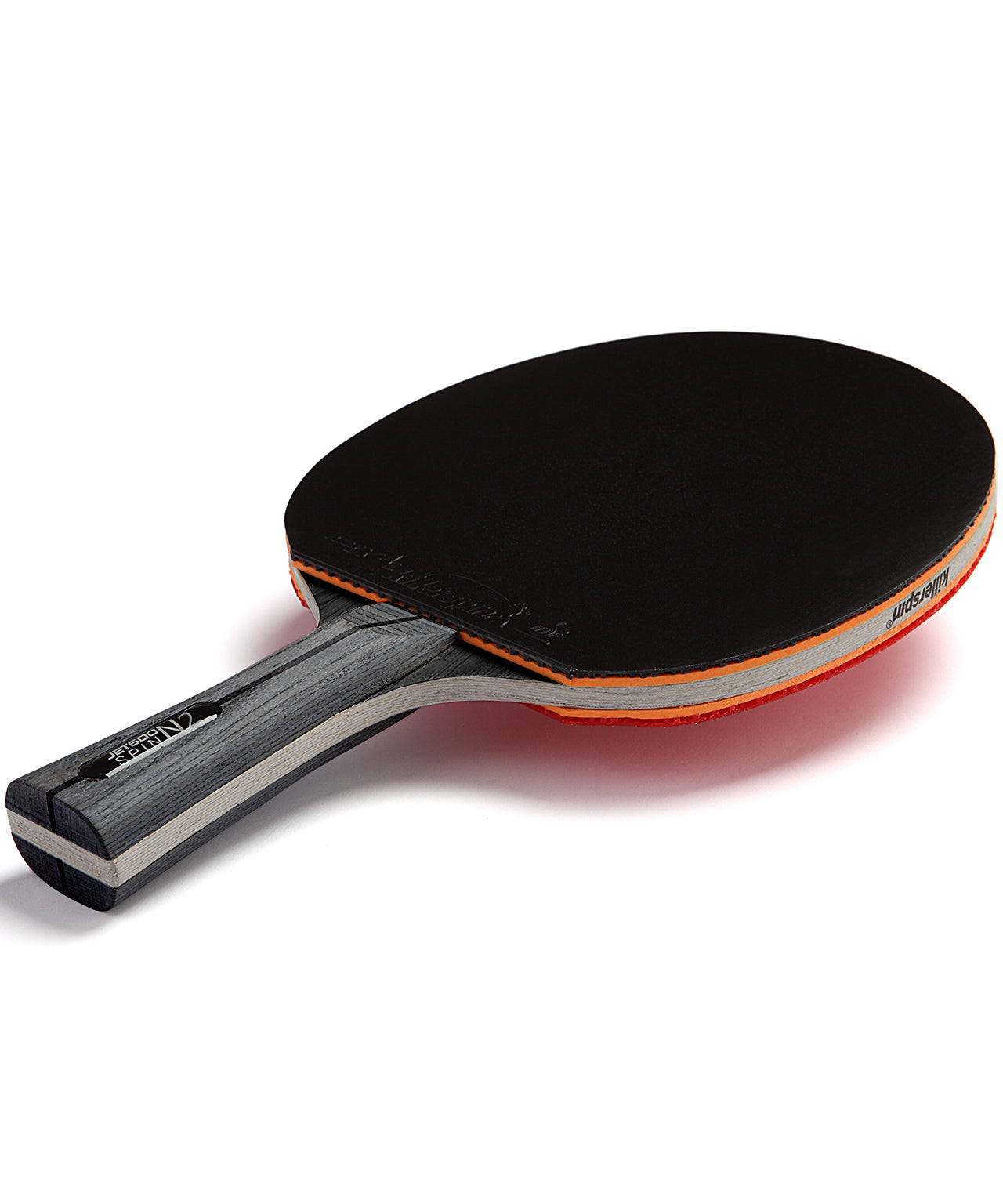 Killerspin Ping Pong Paddle Jet600 Spin N2 - Black Rubber
