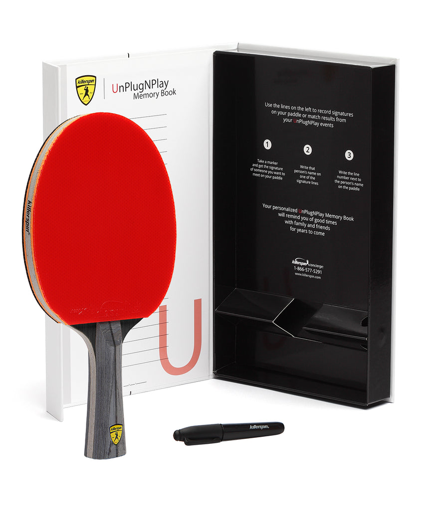 Killerspin Ping Pong Paddle Jet600 Spin N2 - Gift