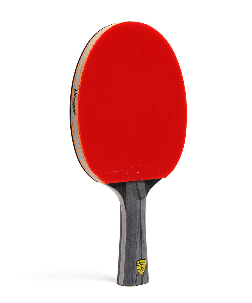 Killerspin Ping Pong Racket Jet600 Spin N2 - Red Rubber