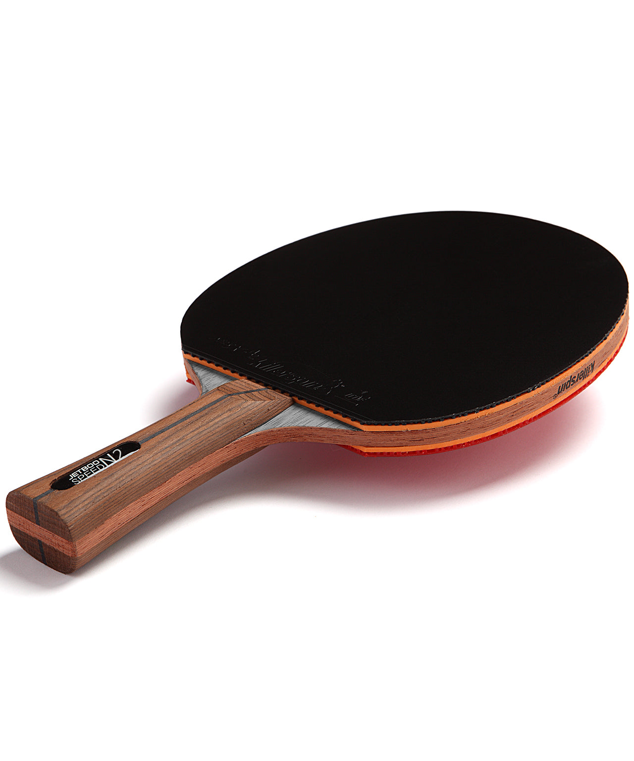 Killerspin Ping Pong Paddle Jet800 Speed N2 - Black Rubber