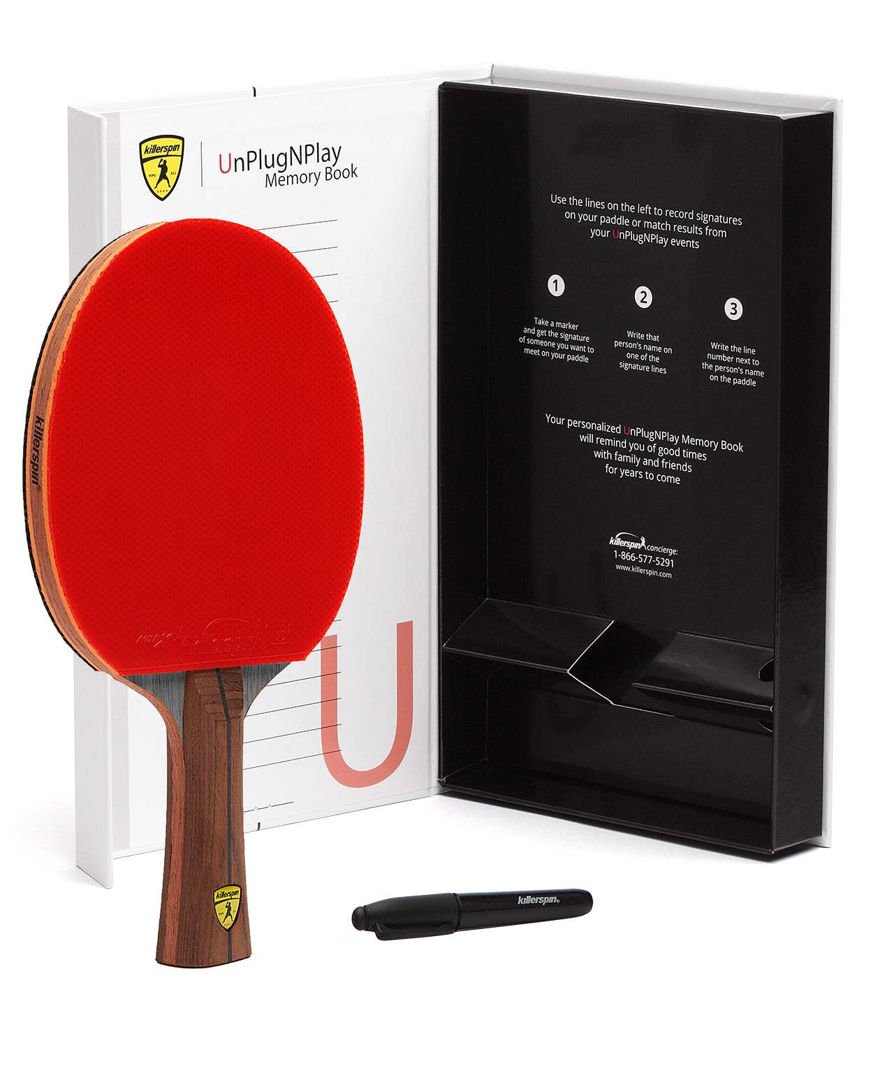 Killerspin Ping Pong Paddle Jet800 Speed N2 - Gift