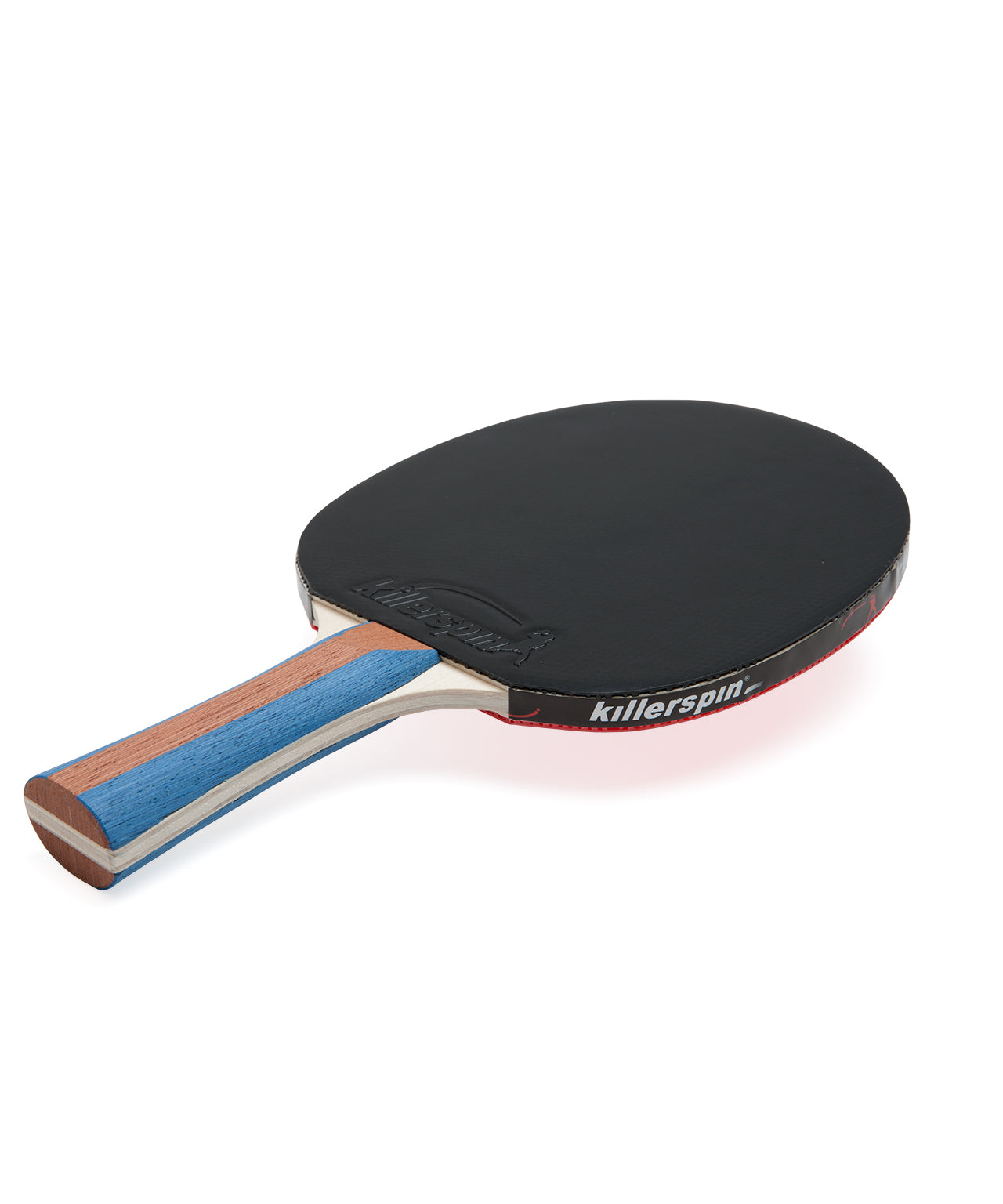 Killerspin Ping Pong Paddle Set JetSet4 Premium - Black Rubber
