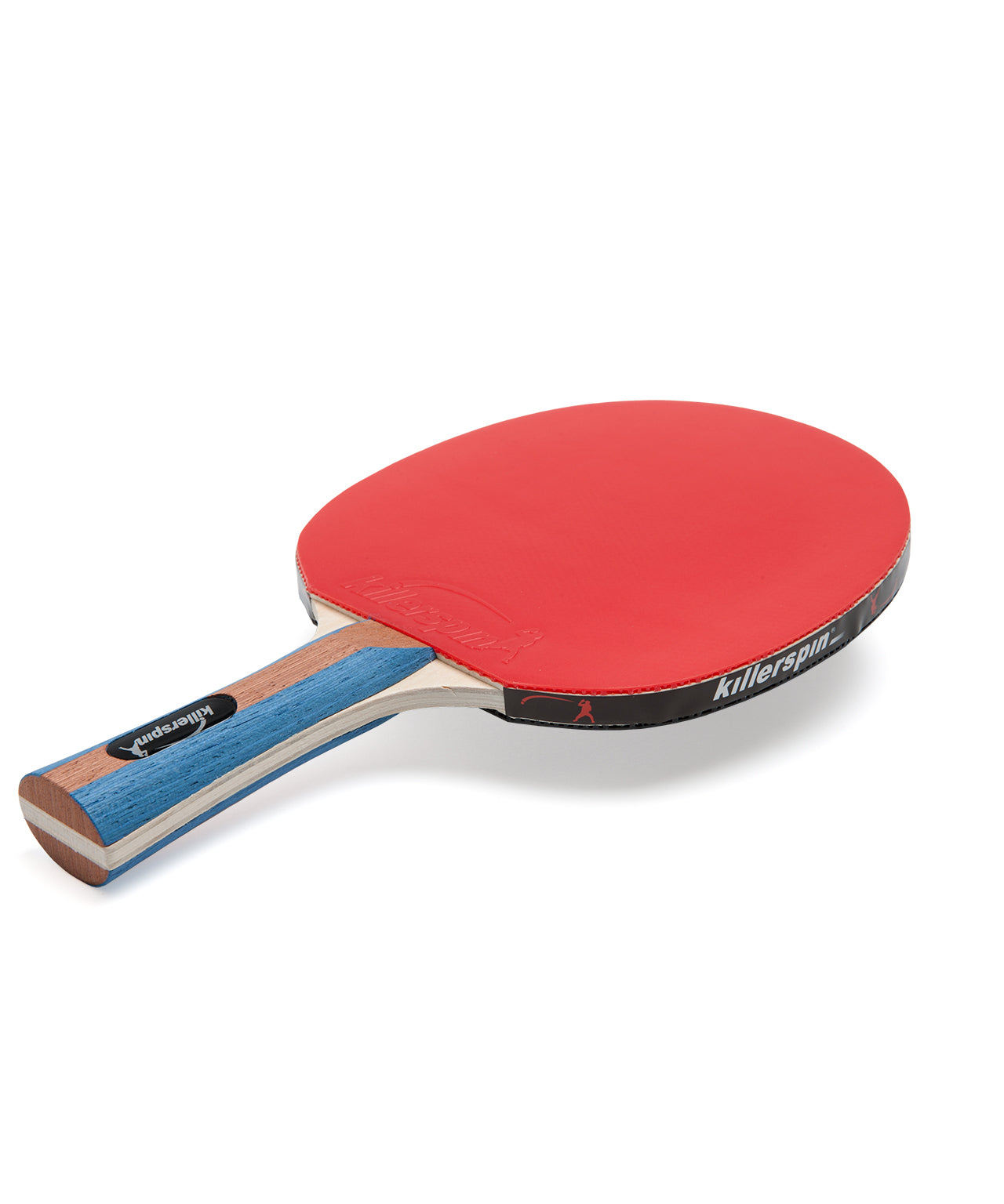 Killerspin Ping Pong Paddle Set JetSet4 - Red Rubber