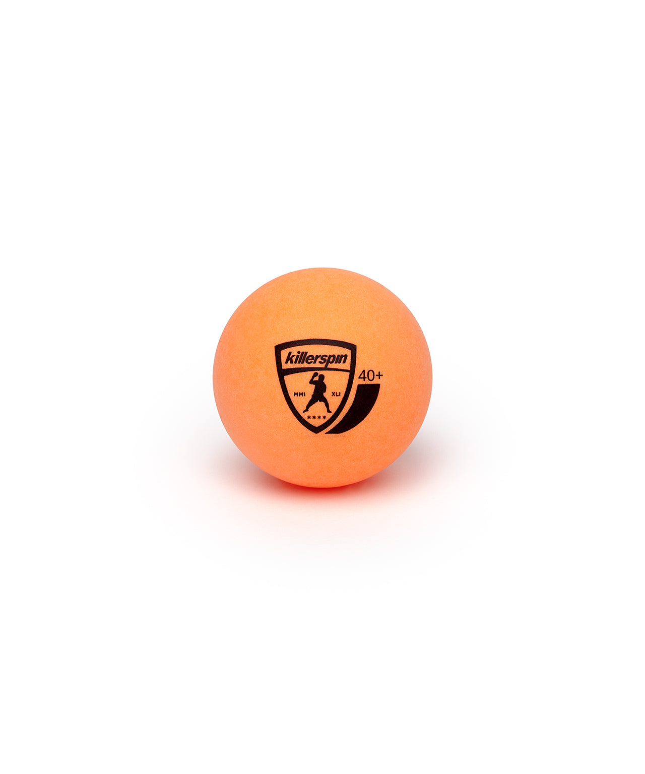 Killerspin Ping Pong Paddle Set JetSet4 - Orange Ball