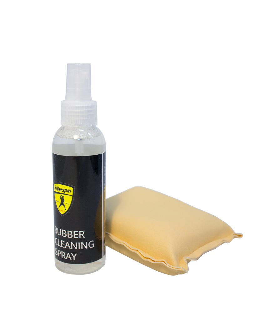 Killerspin Ping Pong Paddle Rubber Cleaning Spray Kit