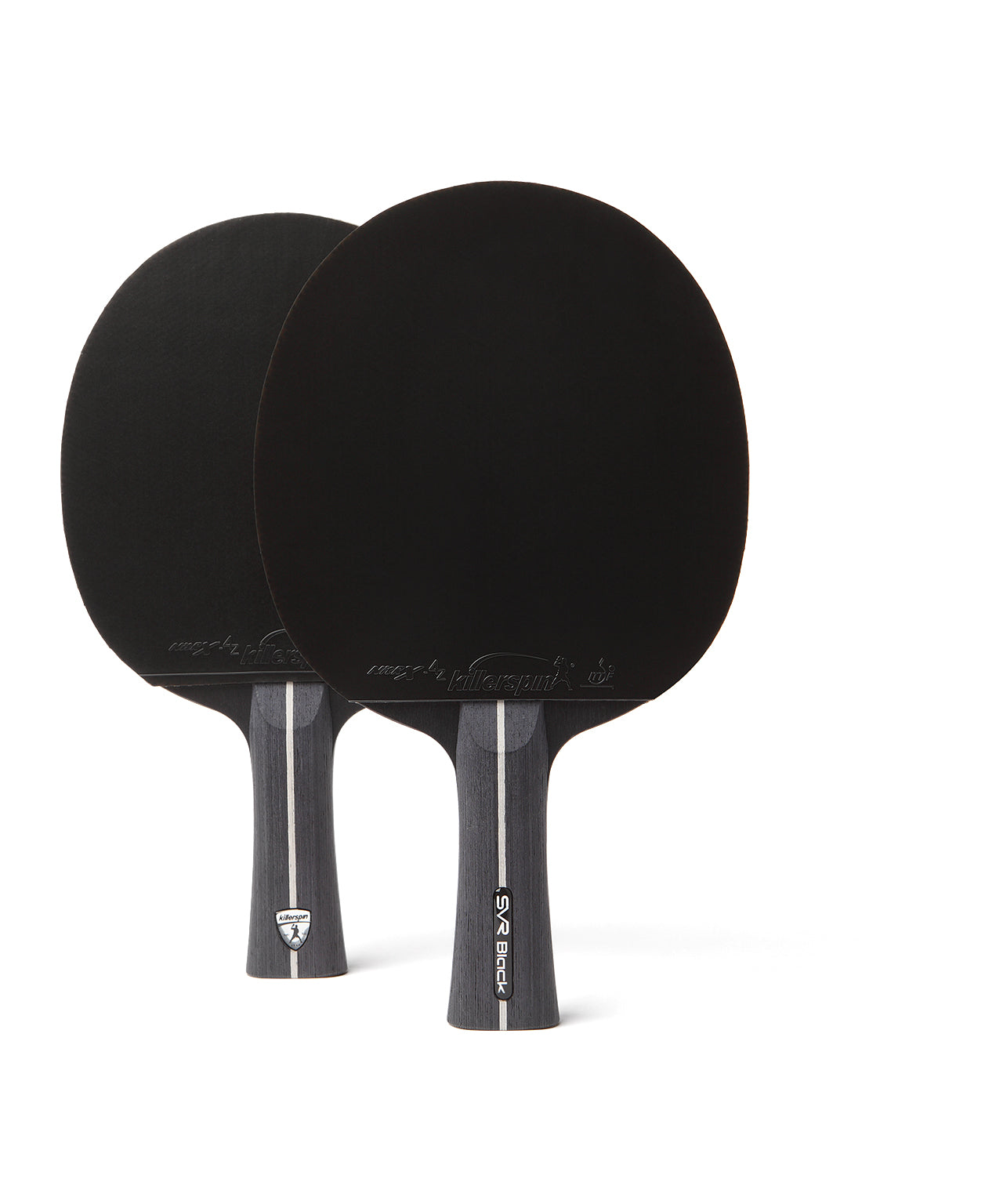 Killerspin SVR Ping Pong Paddle Set SVR 2U Black - 2U Paddles